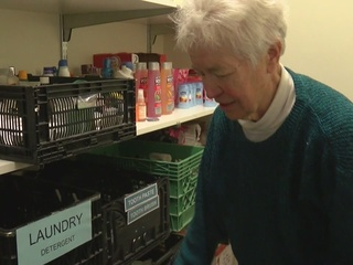 Volunteer helps familes become self sufficient