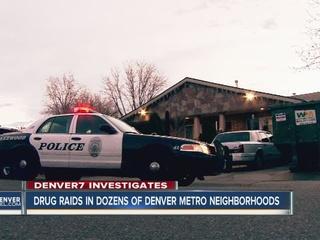 Raids target drug dealers in metro area