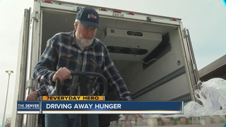 How one man is driving away hunger