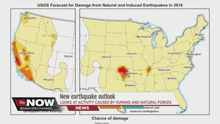 New earthquake outlook for 2016