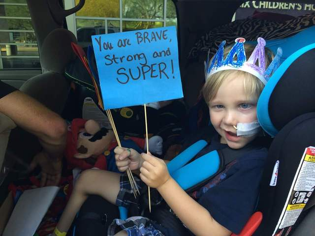 Family Asks For Birthday Cards 7 Year Old Who Survived Brain Cancer And Now Has Moyamoya