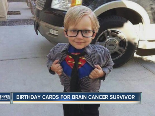 Family Asks For Birthday Cards 7 Year Old Who Survived Brain Cancer And Now Has New Condition