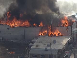 Old Rockies Inn motel damaged in massive blaze