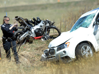 Motorcyclist killed in crash with BMW on US 36