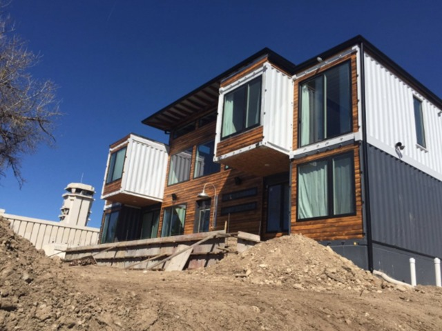 shipping container house perfect slanty shipping