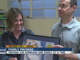 Couple helps homeless families get back on track