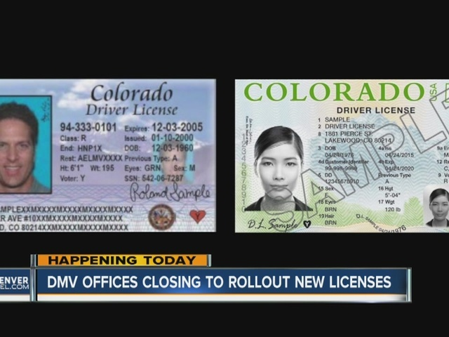 Colorado DMV offices begin one-day closures to get ready ...