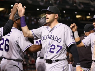 Story's hot bat leads Rockies to win over Dbacks