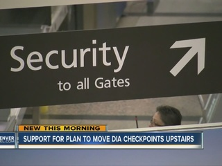 DIA looks at moving security screening area