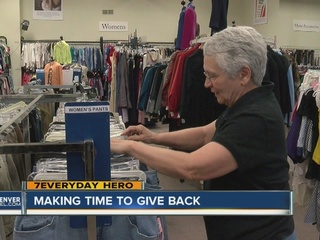 Volunteer makes time to give back in Castle Rock