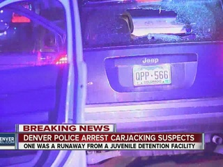 Police find guns and meth after carjacking