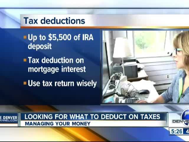 Looking For What to Deduct on Taxes