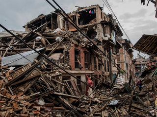 A year after a quake, Nepal struggles to rebuild