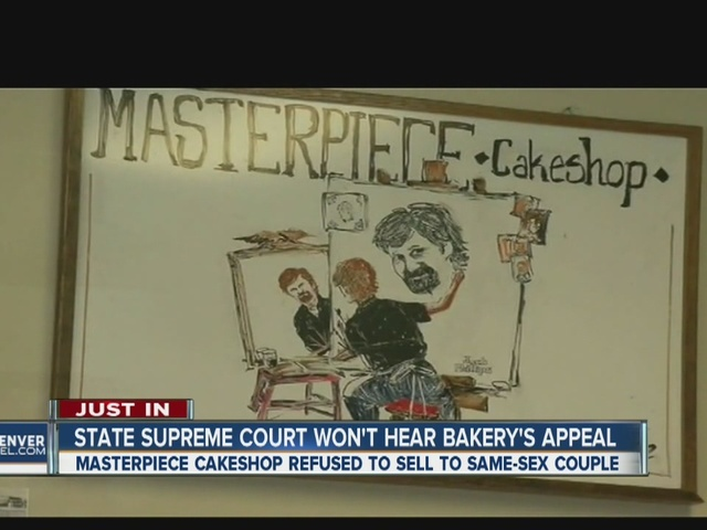 Colorado Supreme Court will not hear Masterpiece Cakeshop appeal