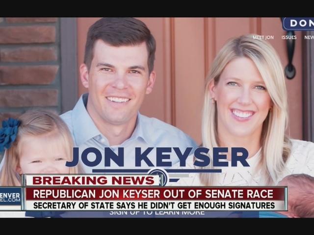 Jon Keyser falls 86 valid signatures short of U.S. Senate primary…
