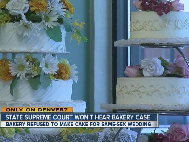 Denver Cake Shop Refuses Couple
