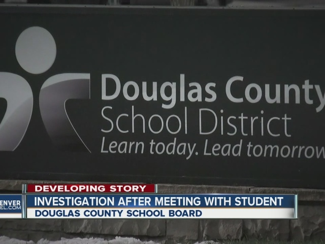 Access of two Douglas County school board members to student at…