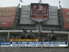 Bill would require 'Mile High' in stadium name
