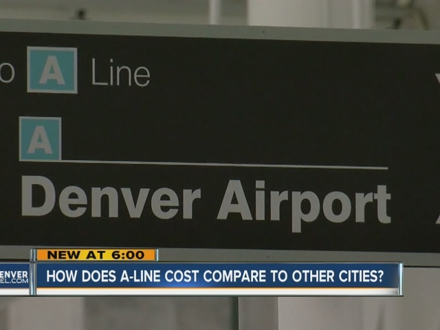 Comparing train fares to airports