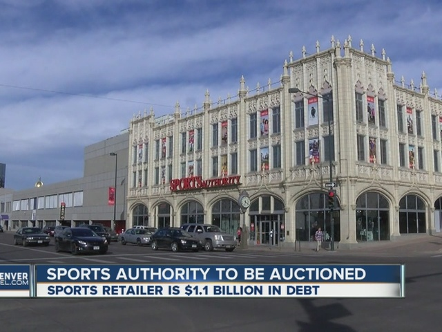 Sports Authority assets to be auctioned