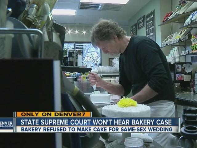 Colorado Supreme Court won't hear Lakewood bakery case