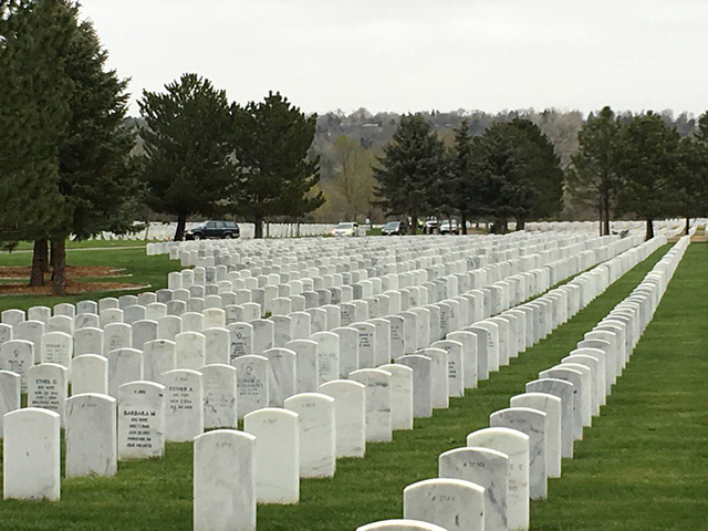 Fort Logan National cemetery looking to expand