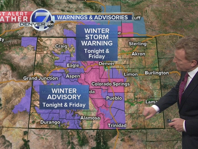 More rain and snow for the evening commute