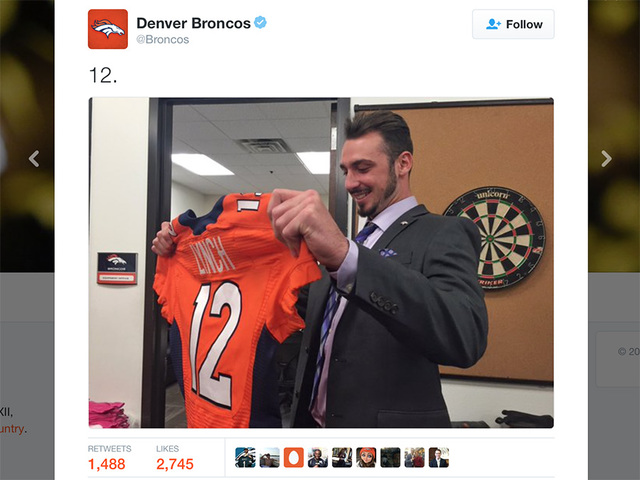 Paxton Lynch arrives in Broncos Country
