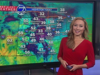 Slow moving storm lingers over Colorado