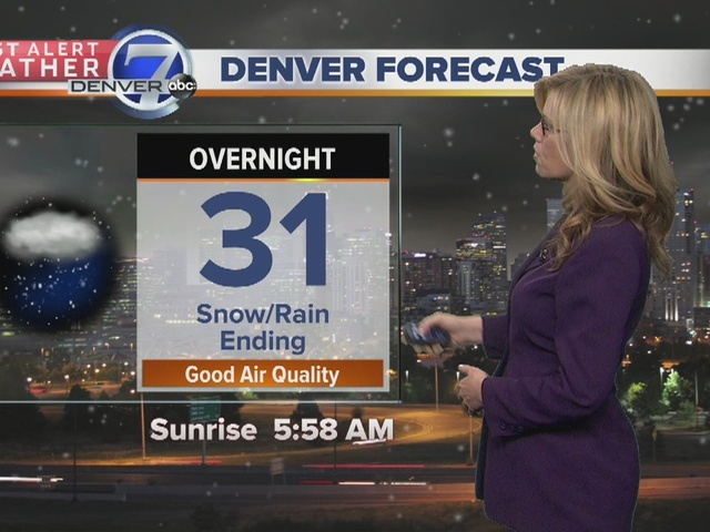 Much warmer weather ahead for Colorado!