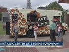 'Civic Center EATS' kicks off Tuesday
