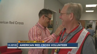 7Everyday Hero Guy Forti helps the Red Cross