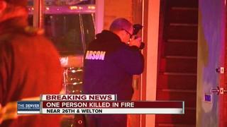 UPDATE: Death in apartment fire 'suspicious'