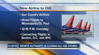 Sun Country Airlines offering service at DIA