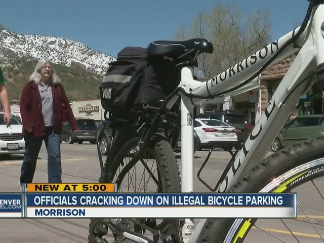 Cyclists driving to Morrison to ride are taking up parking spaces,…
