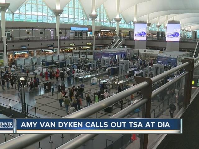 Olympian Amy Van Dyken Rouen calls out TSA at DIA