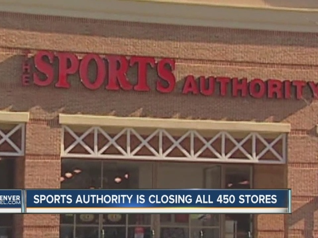 Sports Authority closing all 450 stores
