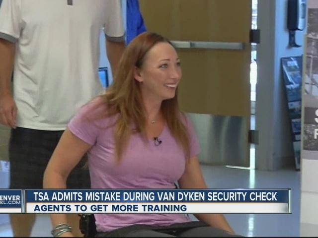 TSA admits mistake after Amy Van Dyken-Rouen said she was 'humiliated'…