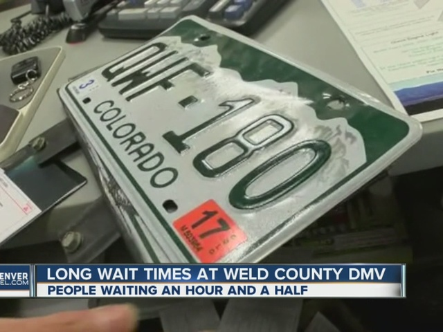 Weld County sees long DMV wait times, blames growth and state system