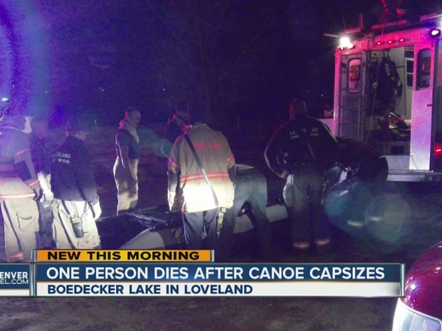 1 dead after canoe capsizes at Bodecker Lake in Loveland