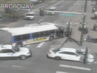 Woman hit by bus at Broadway and Colfax