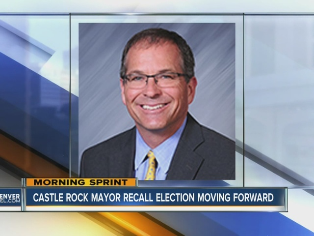 Castle Rock Mayor facing recall election