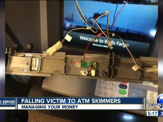Falling Victim to ATM Skimmers