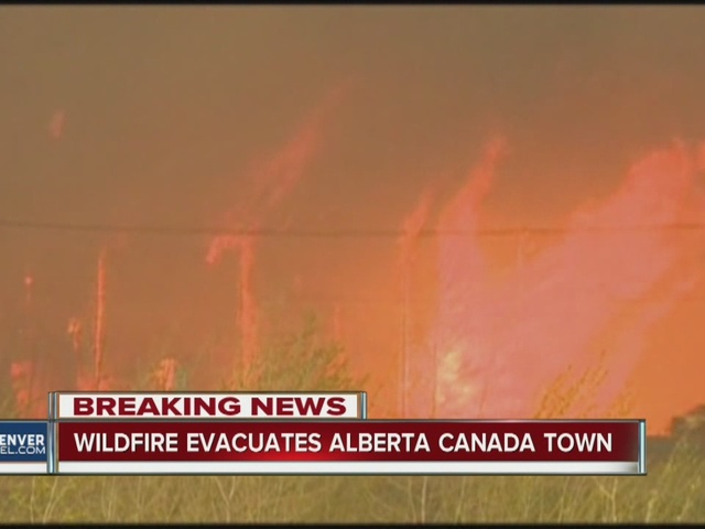 Massive wildfire forces evacuation of entire city in Alberta, Canada