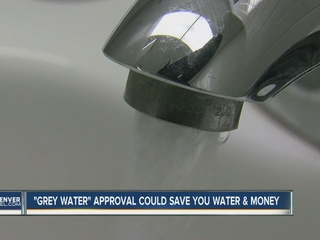 Denver okays use of 'graywater'