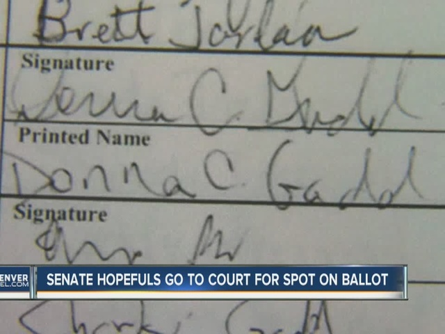 Voter says her signature was forged on petition to place GOP Senate…