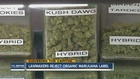 Colorado decides against organic labels for pot