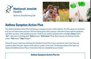 The Benefits of Using an Asthma Action Plan