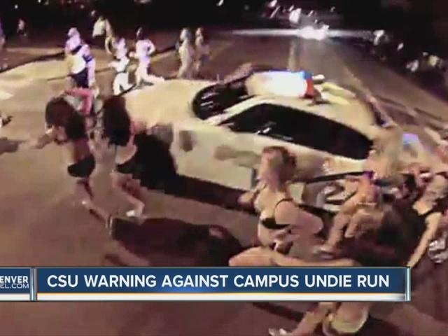 CSU warning against campus undie run
