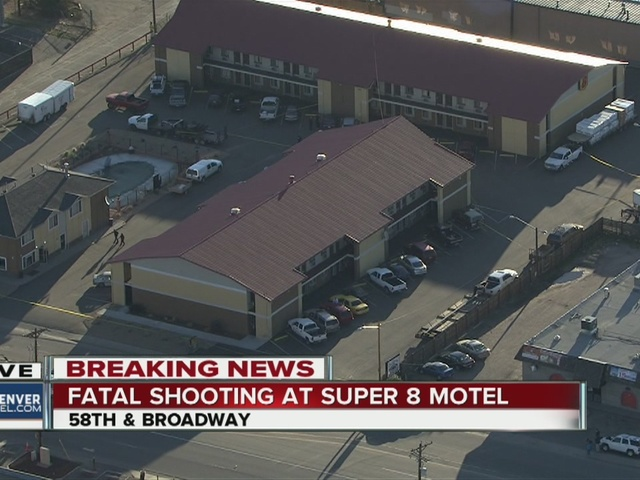 One man is dead after a shooting in a motel parking lot